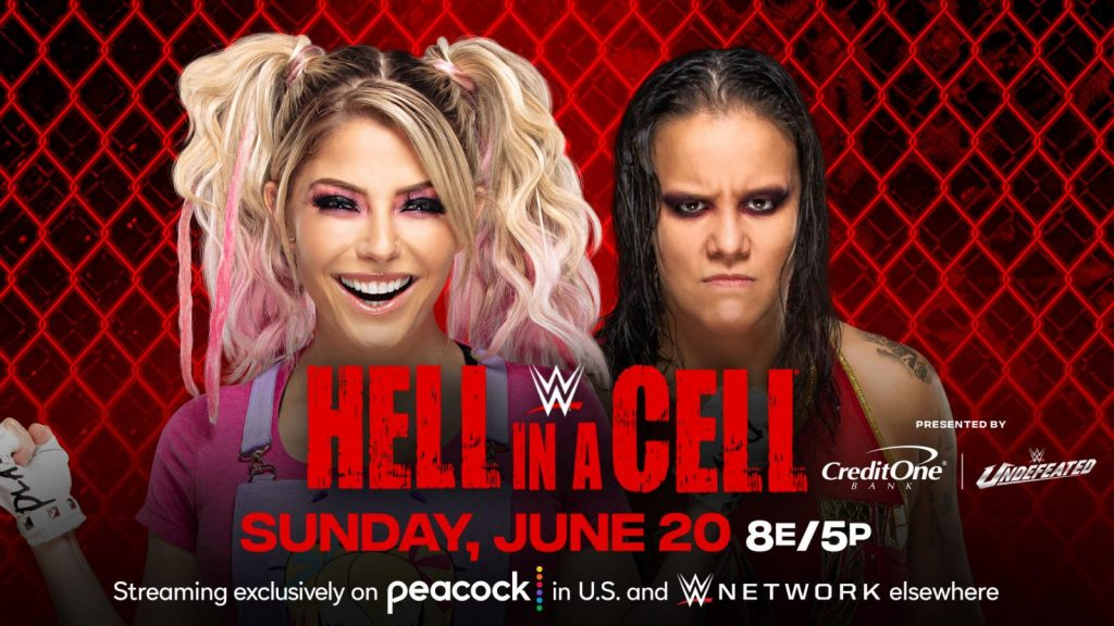 Alexa Bliss se enfrentará a Shayna Baszler en Hell in a Cell 2021