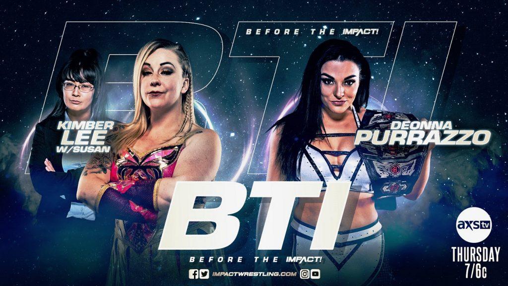 Previa IMPACT Wrestling 1 de julio de 2021