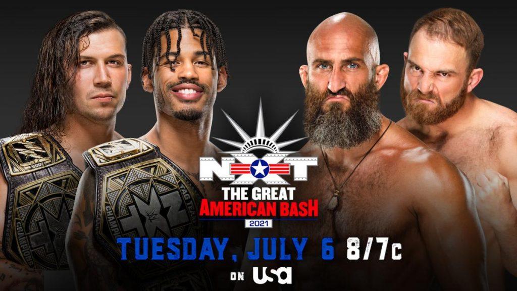 Previa WWE NXT The Great American Bash 6 de julio de 2021