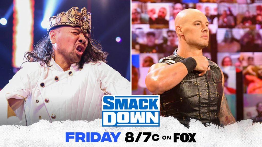 Previa WWE SmackDown 9 de julio de 2021