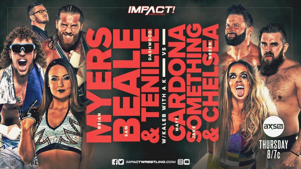 Previa IMPACT Wrestling 22 de julio de 2021