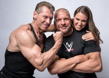 Vince, HHH y Stephanie McMahon