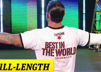 CM Punk hace su mítica entrada en su ciudad natal en Money in the Bank 2011