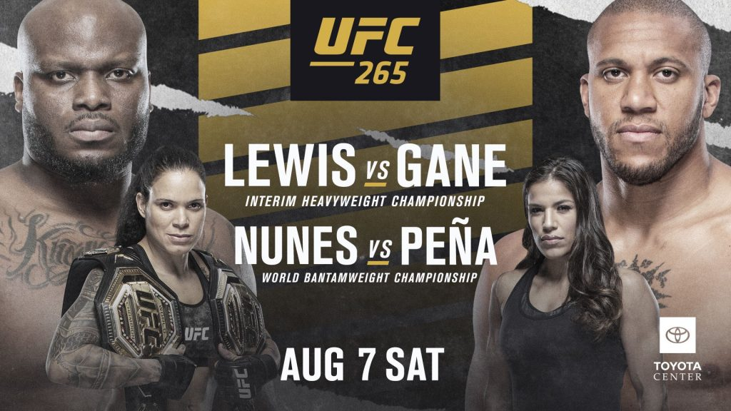 Cartelera UFC 265 actualizada: Lewis vs. Gane