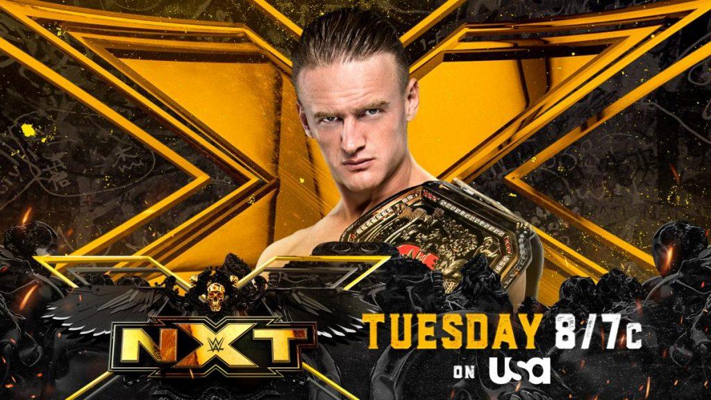 Previa WWE NXT 31 de agosto de 2021