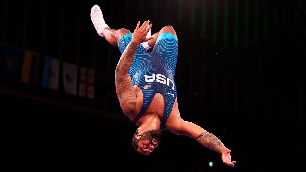 Gable Steveson, del oro olímpico a superestrella de WWE