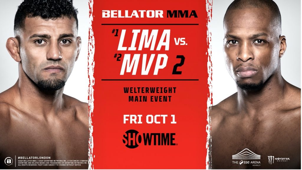 Cartelera Bellator 267: Lima vs. MVP 2